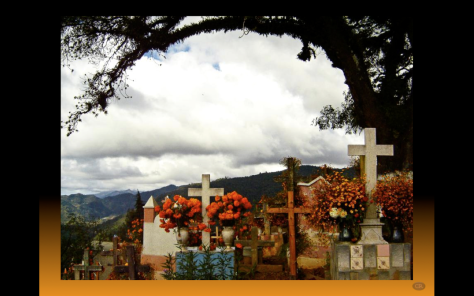 Ayutla panteon en dia de muertos Federido Villanueva