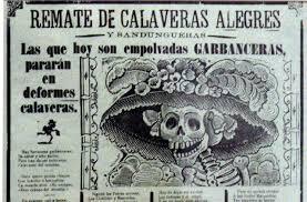 La Catrina Garbancera de José Guadalupe Posada
