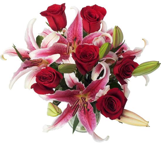 ramo_flores_rosas_lilium_oriental