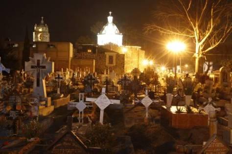 Mixquic iglesia panteon