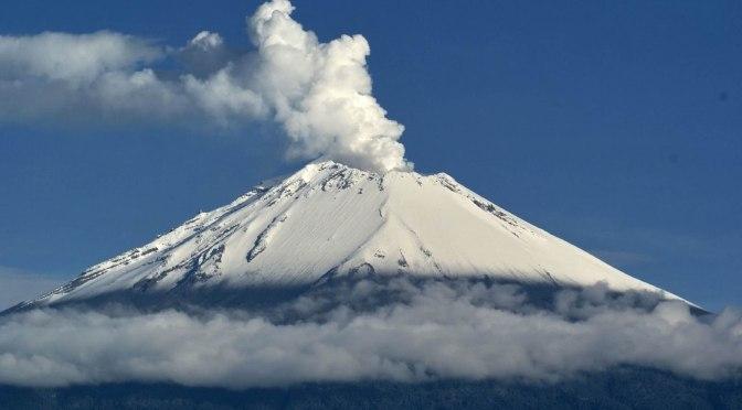 El volcán que puede detener el colapso de la Ciudad de México