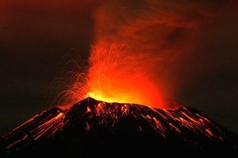 Actividad-del-volcán-Popocatépetl