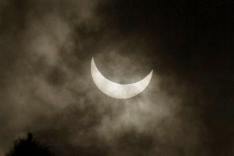 Los cuernos de la Luna
