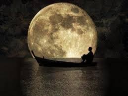 Luna llena en barca