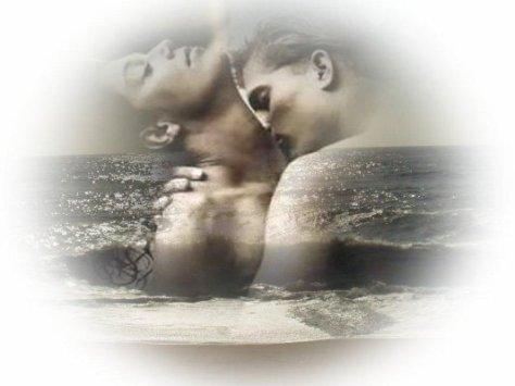 amor+enamorados+pareja+abrazados+beso+fantasia