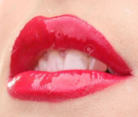12718230-beautiful-make-up-of-glamour-red-gloss-lips-Stock-Photo-lips-sexy-hot