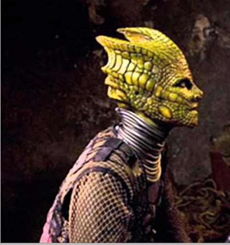 Mujer reptil