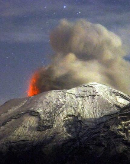 Popocatépetl 13 07 13 ENCUENTROS Y CONTACTOS EXTRATERRESTRES