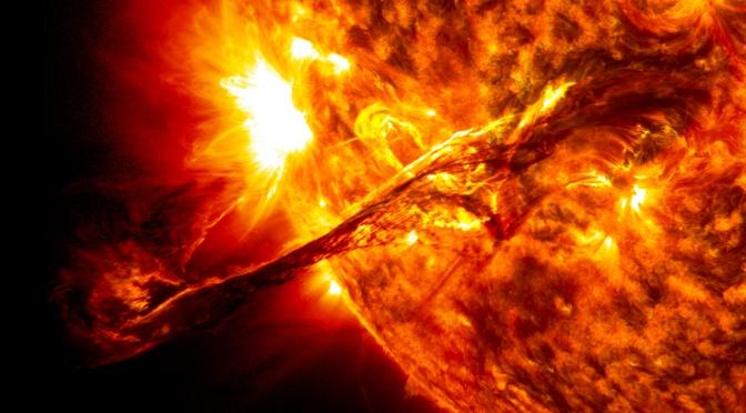 TORMENTA SOLAR EXTREMA VIDEO – NO HUBO INFORMACIÓN
