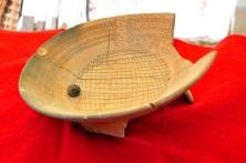 Cajete trípode tipo azteca INAH ofrenda funeraria