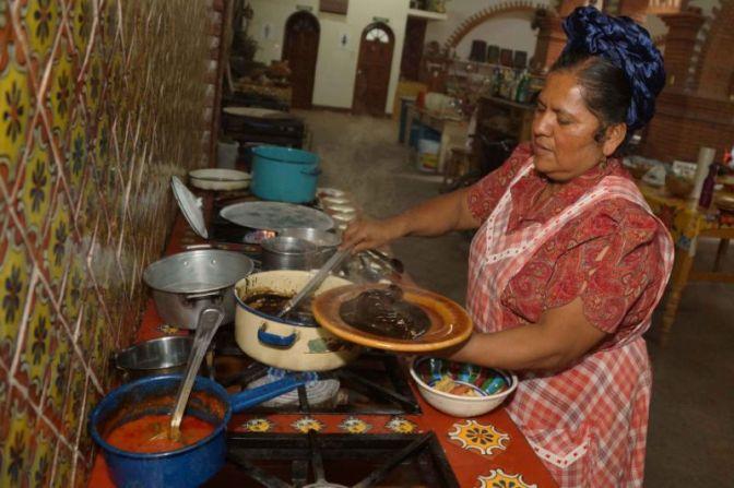 COMIDA MEXICANA La cocinera zapoteca con renombre mundial