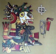 Mictlantecuhtli Códice Borgia
