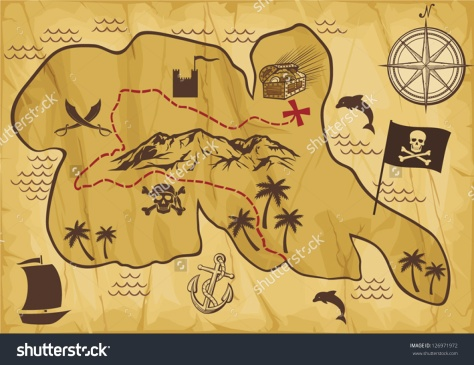 stock-vector-old-pirate-map-of-treasure-island-126971972