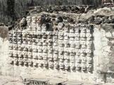 Tzompantli Templo Mayor de Tenochtitlan México