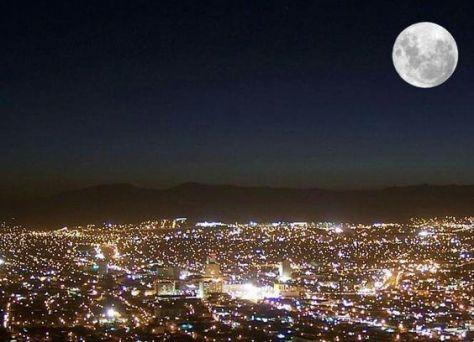 super luna ciudad de mexico