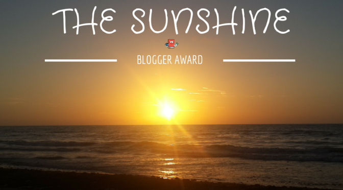 SUNSHINE BLOGER AWARD