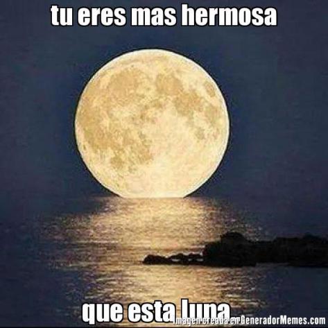 luna hermosa