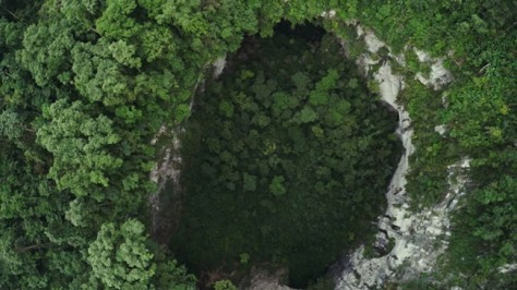 cueva las golondrinas dentro1