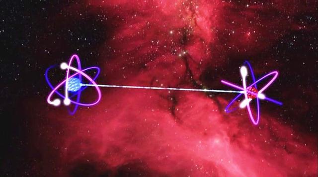 """Entrelazamiento Cuántico o """"Efecto de Dios"""": el Pegamento entre el Espíritu y la Materia"""