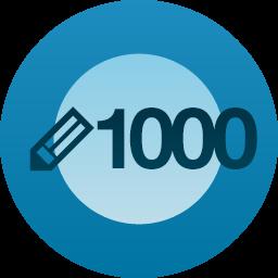 1,000 ENTRADAS PUBLICADAS EN SERUNSERDELUZ