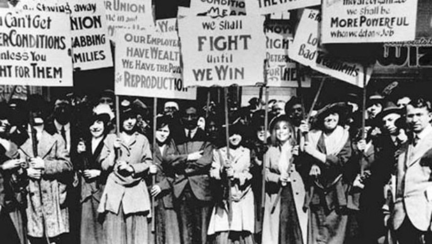 Historia del Origen del Día de la Mujer